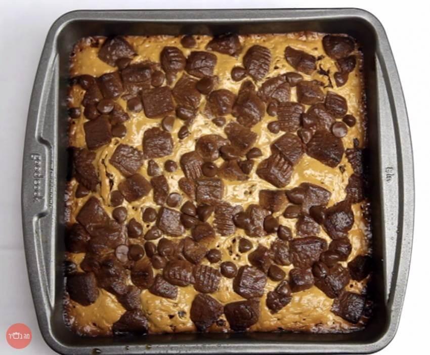עוגת בראוניז מרשמלו