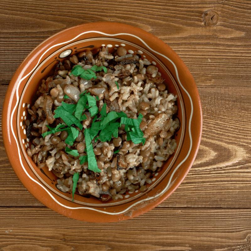 אורז ועדשים